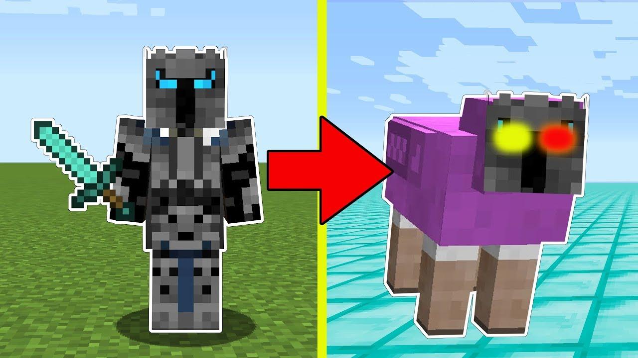 Minecraft: TRANSFORMING INTO MR. RAINBOW! - ENTER THE MINE! (B&N HANGOUT!)  - A Hole New World [9]