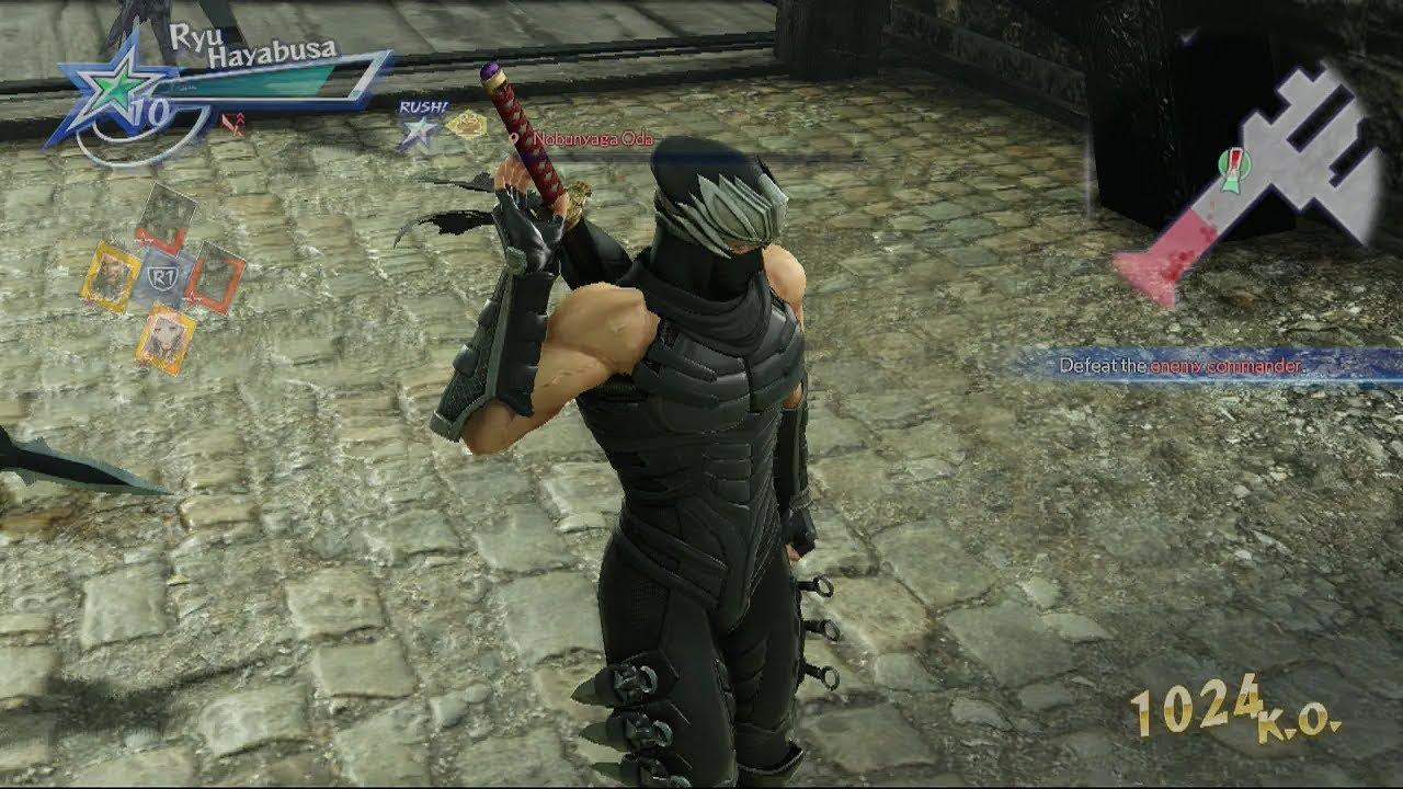 Warriors All Stars Ps4 Eng Ryu Hayabusa Gameplay From Ninja