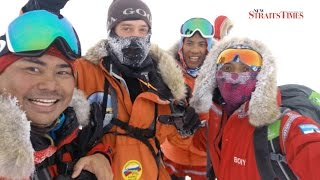 Malaysian explorers reach North Pole five days ahead of schedule