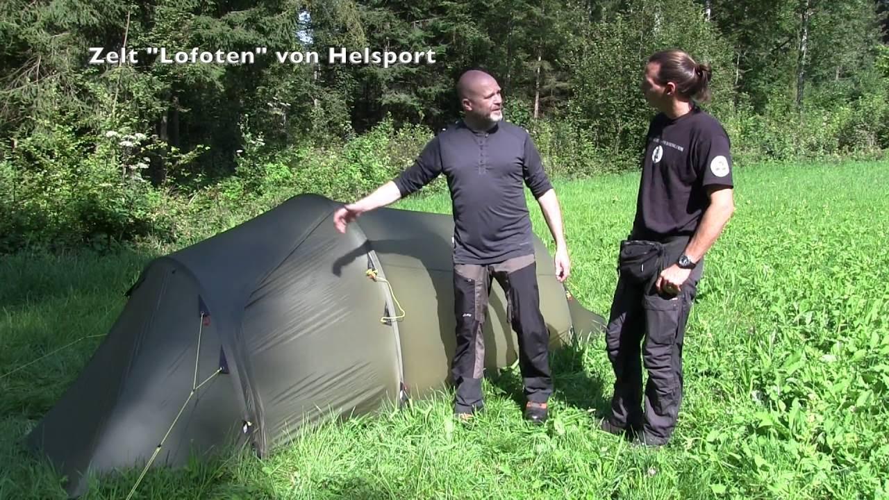 e5ded3101c3d13 Zelt Lofoten von Helsport - YouTube