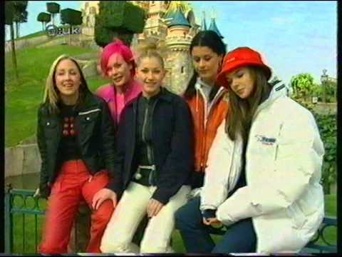 Girl Thing interview at Disneyland Paris