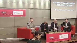 Millennium Technology Prize & TEDx Shanghai: Panel Discussion