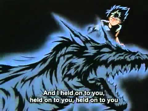 Yu Yu Hakusho ED 3   Unbalanced Kiss English Dub, Sung by Jimi Tunnel Subtitles Correct Timing