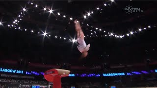 Paseka becomes World Champ in Vault - Universal Sports