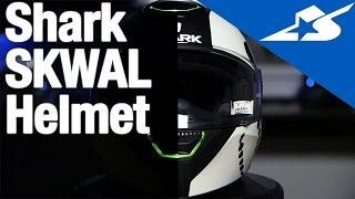 The Shark SKWAL Helmet with LED Lighting | Motorcycle Superstore