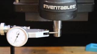 Carvey the 3D Carver by Inventables - Repeatability and runout test streaming