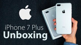 iPhone 7 Plus - EPIC Unboxing & First Impressions! thumbnail