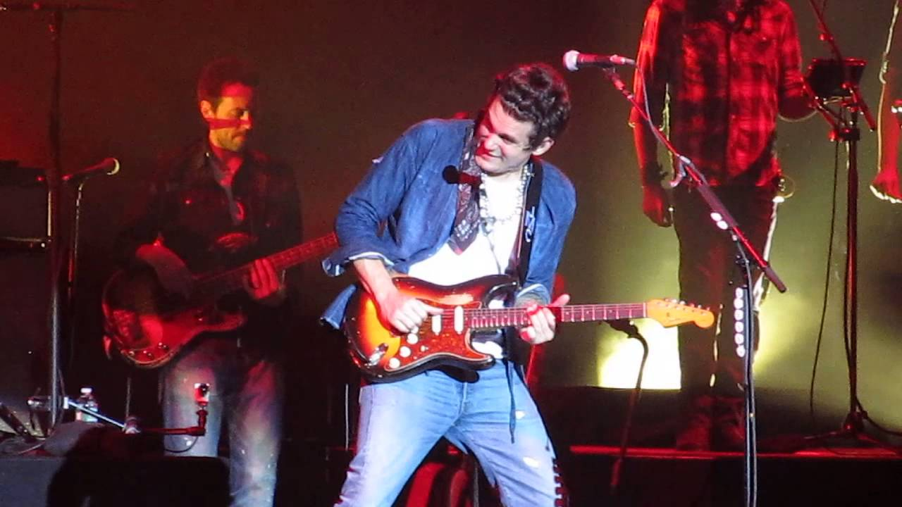 John Mayer Slow Dancing In A Burning Room Born And Raised Tour 2013 Camden Nj Live Youtube
