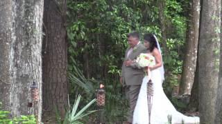 Tampa Area Wedding Reception Brooksville Saxon Manor Shabby Chic Barn