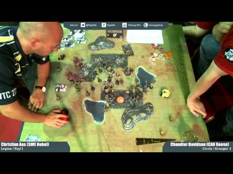 WTC 2015 - Round3 - Legion of Everblight vs Circle Orboros - Christian vs Chandler