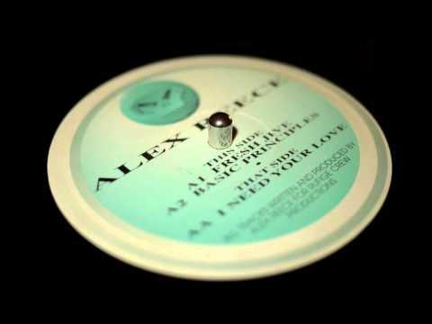 Alex Reece - Basic Principles - Metalheadz - MET 003 (1994)