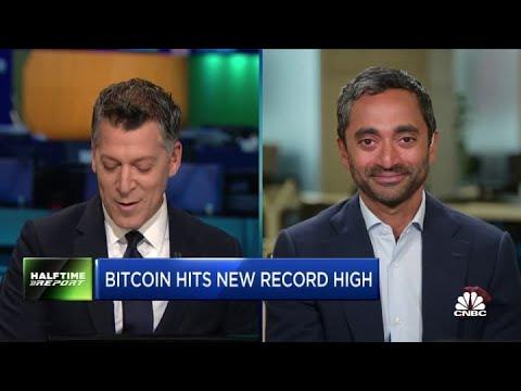 Bitcoin going to $100K, then $150K, then $200K: Palihapitiya