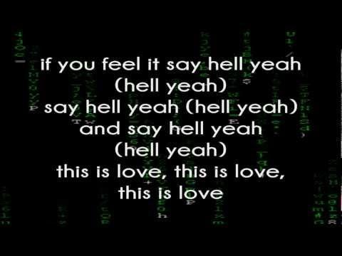 Will.I.Am Feat. Eva Simons - This Is Love (Lyrics On Screen)