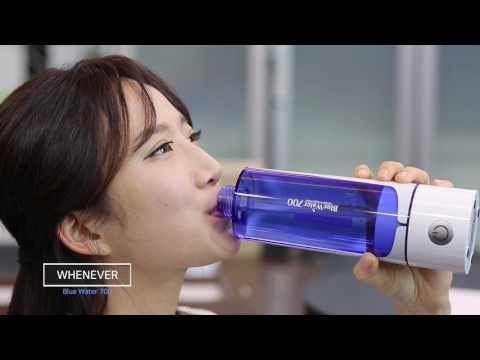 Blue Water 700 Portable Hydrogen & Silicon Water