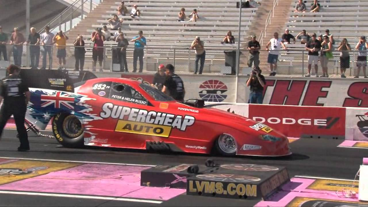 Peter Russo Supercheap Auto Las Vegas Test Youtube