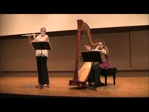 "David Kechley: ""Available Light"" for flute and harp Movement Two: Cold Fusion"