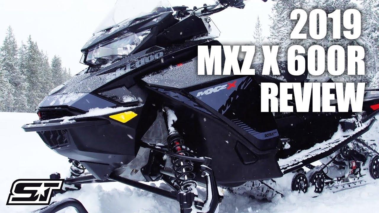Full Review of the 2019 Ski-Doo MXZ X 600R