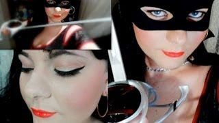 TUTORIAL: LADY ZORRO MAKEUP Inspired Look - HALLOWEEN 2013