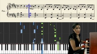 Vanessa Carlton - A Thousand Miles - Piano Tutorial + Sheets