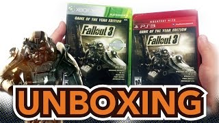 Fallout 3 (Game of the Year Edition) (Xbox 360 / Playstation 3) Unboxing!!