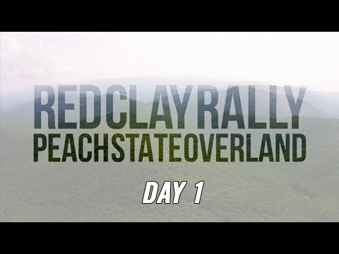 Red Clay Rally 2017 - Day 1 Peach State Overland