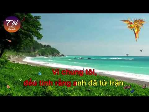 [Karaoke] Tim lai cuoc doi (Xang xe - Co 1-2-3 Don ca Nam)