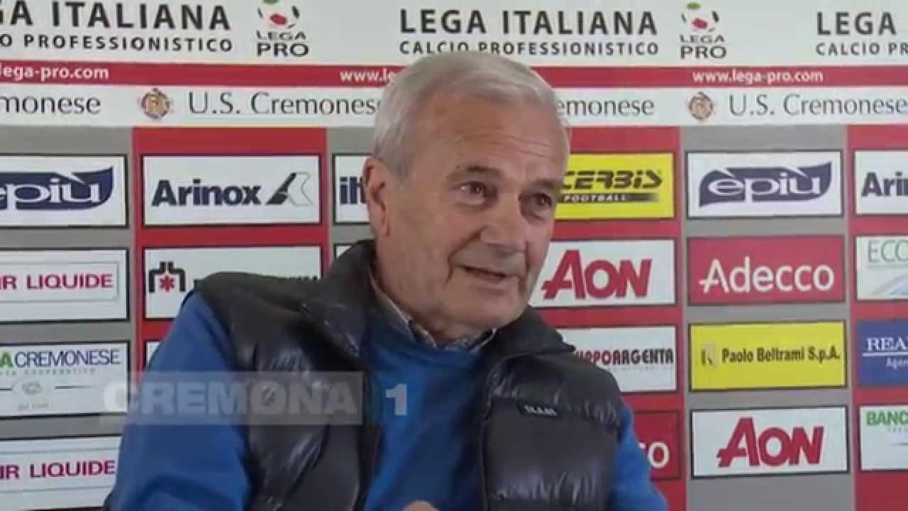 Gigi Simoni Nominato Presidente Della Cremonese Youtube