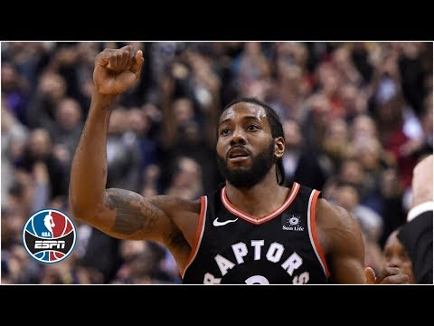 Kawhi Leonard hits game-winning shot for Raptors vs. Nets | NBA Highlights