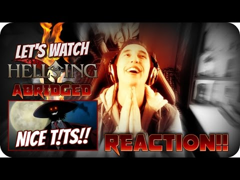 A REAL F*CKING VAMPIRE!!| LET'S WATCH Hellsing Ultimate Abridged Episode 1 REACTION!!