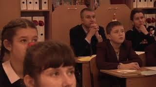 Учитель року.Урок української літератури у 7класі.