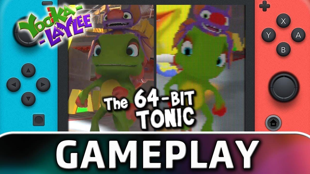 Yooka-Laylee! | The 64-Bit Tonic Gameplay on Nintendo Switch