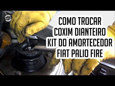 Como Trocar o Coxim e o Kit do Amortecedor Dianteiro do Fiat Palio Fire