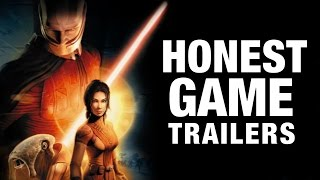 STAR WARS: KNIGHTS OF THE OLD REPUBLIC (Honest Game Trailers)(SUBSCRIBE ▻▻http://smo.sh/SubscribeSmoshGames HGT: BATTLEFRONT ▻▻http://smo.sh/HGT-BattleFront HGT: LEGO STAR WARS ..., 2016-12-13T19:00:05.000Z)