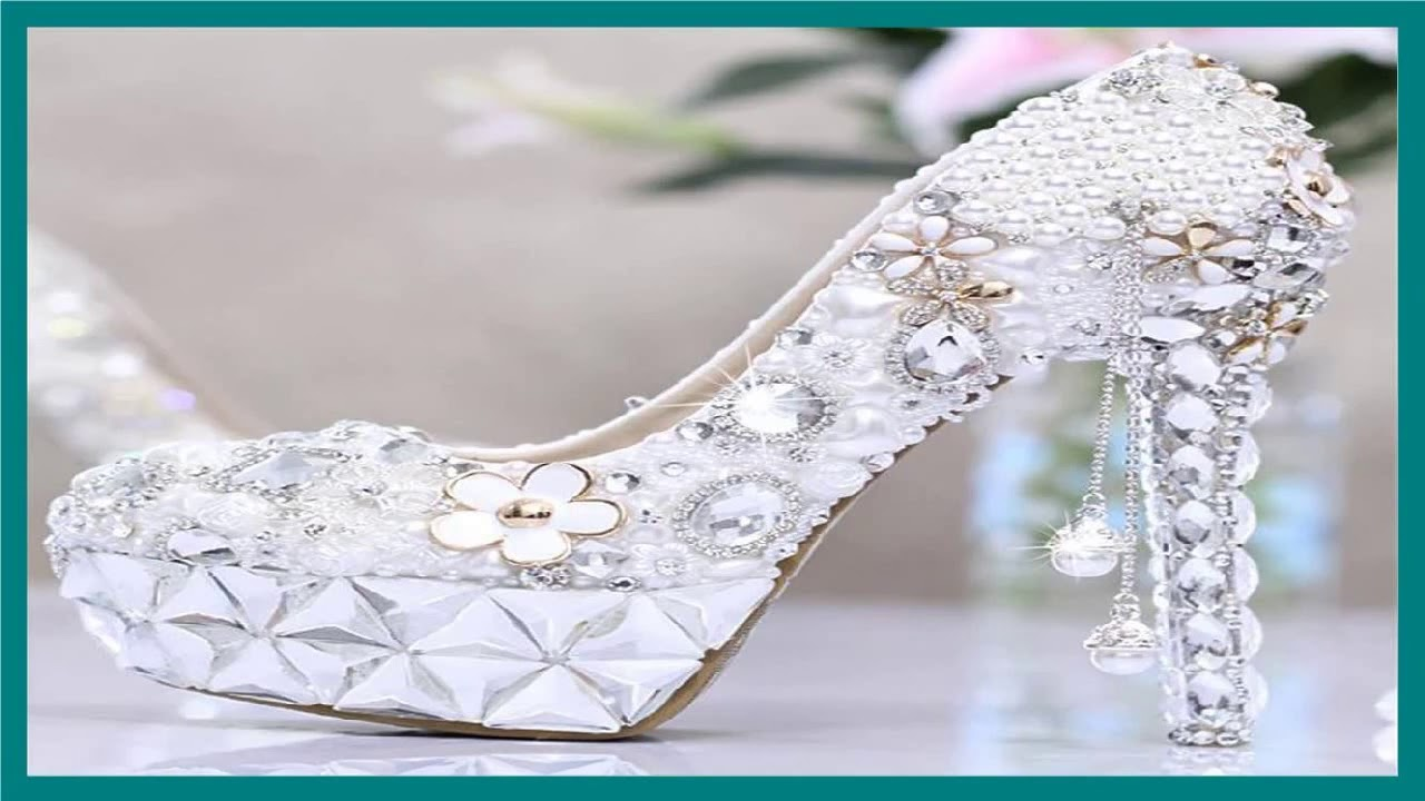 4e9c45533517 26 Best Wedding Shoes Heels Ideas - Wedding Shoes - YouTube