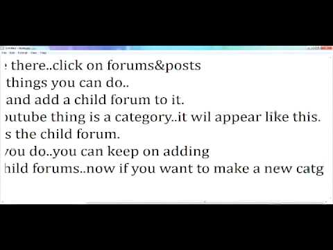 MAKE YOUR OWN MYBB FORUMS IN LESS THAN 10 MINS! BEST TUTORIAL EVARR!!
