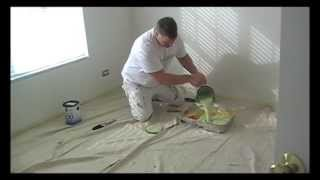 how to paint a room the best how to paint video!! pt 1. Like a pro!