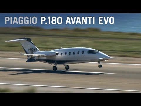 Flying at Jet Speeds in Italian Style with the Piaggio P.180 Avanti Evo Turboprop – AINtv