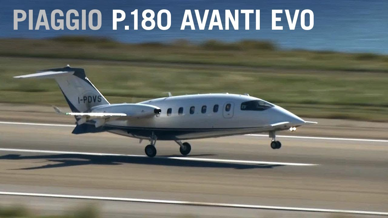 flying at jet speeds in italian style with the piaggio p.180