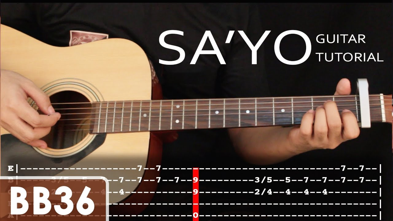 Sayo Silent Sanctuary Guitar Tutorial Holiday Special