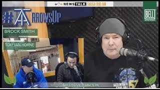 """RAW MIKE RICHARDS   Toronto Arrows! """"Arrows Up"""" with Tom Van Horne and Brock Smith!"""