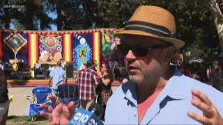 Hundreds Celebrate Mexican Independence Day In Sacramento's Southside Park