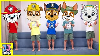 퍼피구조대 인기동요로 알파벳 ABC 송 영어공부해요 Five Little Monkeys ABC Alphabet Nursery Rhymes Song for kids [JJ tube]