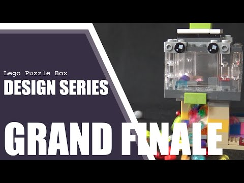Design Series: GRAND FINALE - Lego Puzzle Box Solve Reveals (examples)