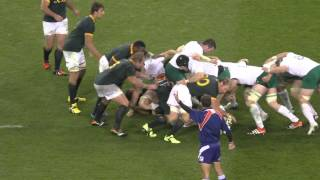 Ireland vs South Africa Rugby 2014