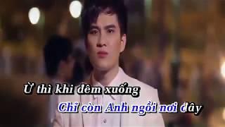 Ừ Thì Anh Nhớ Em Karaoke Remix | Lâm Chấn Huy