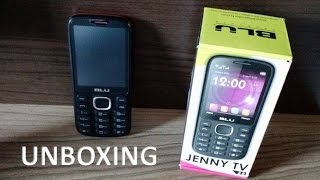BLU Jenny TV 2.8 - UNBOXING