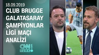 Club Brugge Galatasaray Şampiyonlar Ligi maçı analizi