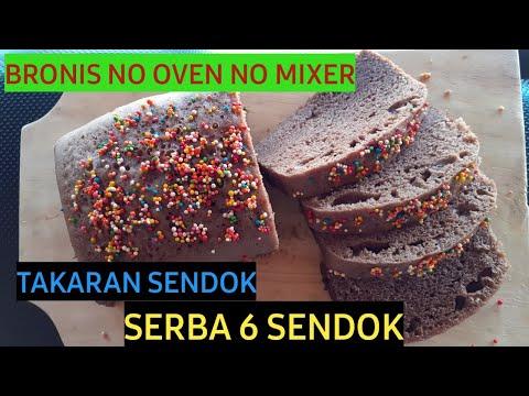 Bronis Tanpa Mixer Takaran Serba 6 Sendok