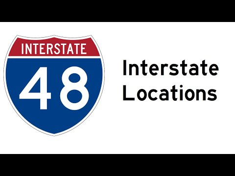 Interstate Locations | Interstate Highways | Blanding Cassatt
