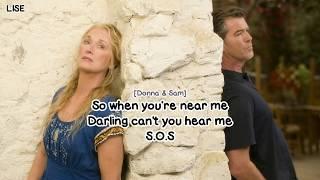 "Pierce Brosnan & Meryl Streep - SOS (From ""Mamma Mia!"") [Lyrics Video]"